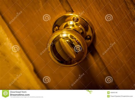 golden door knob stock photo image 45845146