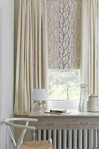 119 best roman blinds and curtains images on pinterest for Curtains that look like roman shades