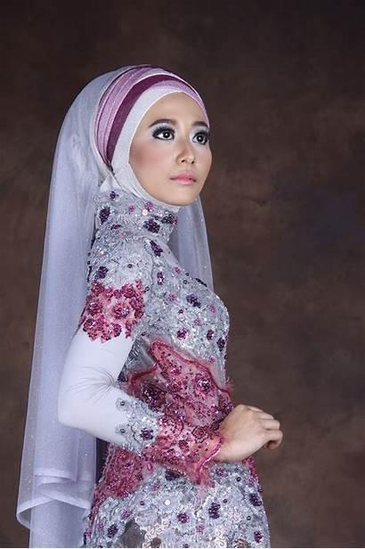 Kebaya Muslim Gambar Pesta Baju Hijab Pengantin