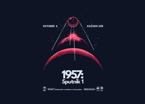 1957: Sputnik 1 by Santiago Sarquis | Threadless