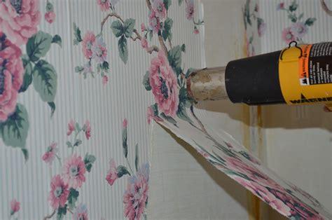heat gun  remove wallpaper  farmhouse reborn