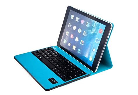 Best Apple Black Dark Red Ipad Air 2 Keyboard Cover For