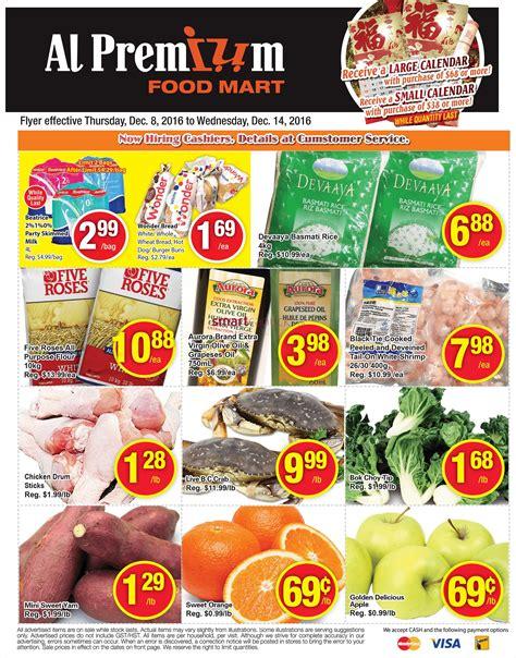 premium cuisines al premium food mart flyer december 8 to 14