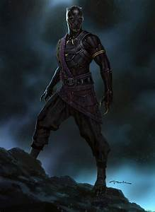 ArtStation - Black Panther- T'Chaka!, Andy Park