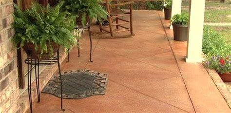 score  acid stain  concrete slab porch  patio