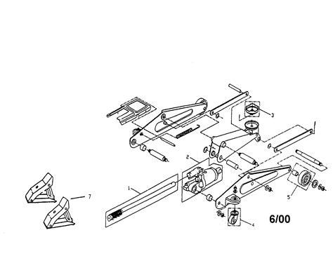 Power Unit Assembly Diagram & Parts List For Model