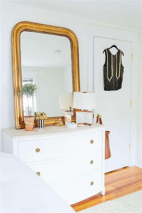 How To Style A Dresser by How To Style Your Bedroom The Everygirl