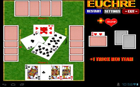 euchre strategy euchre free amazon co uk appstore for android