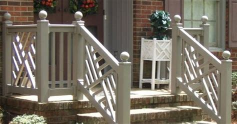 chippendale railing outdoor ideas pinterest porch