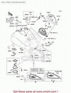 Kawasaki Vn1500n1 Vulcan 1500 Classic Fi 2000 Usa
