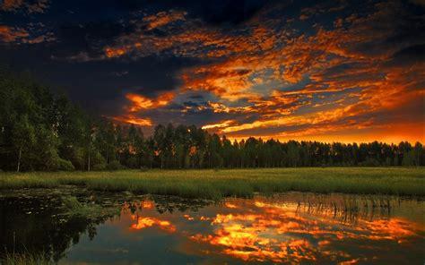 Sunset Sky Wallpaper Hd Desktop Wallpapers 4k Hd