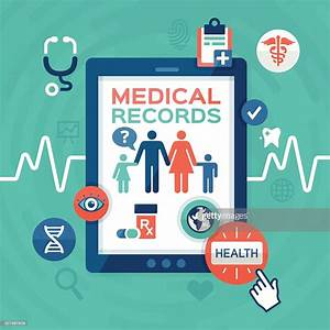 Electronic Medical Records High Res Vector Graphic Getty