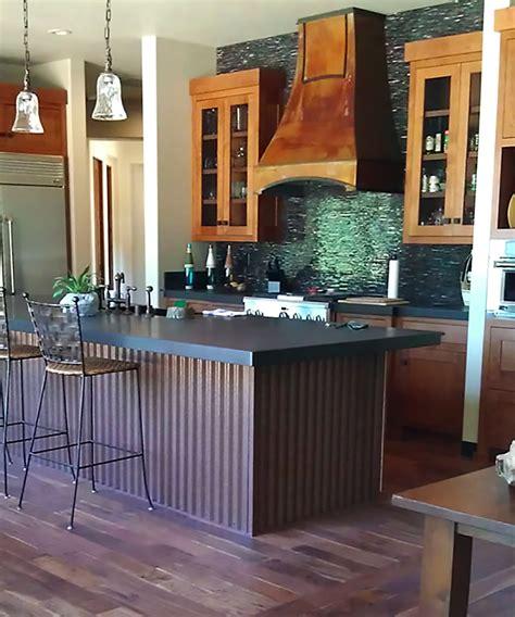 corrugated metal kitchen island 7 8 quot corrugated siding antique rustic 174 5883