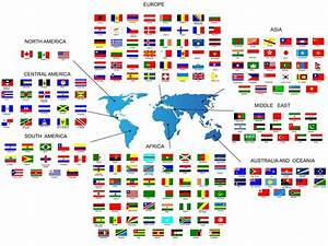 Flags of the world - Online Dictionary for Kids
