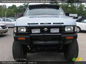 Winter Blue Metallic - 1990 Nissan Hardbody Truck Regular Cab 4x4