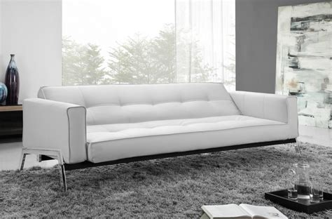 Contemporary Sofa Beds Design by Splitback Modern Sofa Bed W Arms Stainless Steel Legs