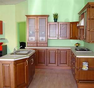 Kitchen Cabinet Design L Shape with Island : Awesome ...