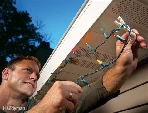 soffit christmas light clips 9 handy decorating tips the family handyman