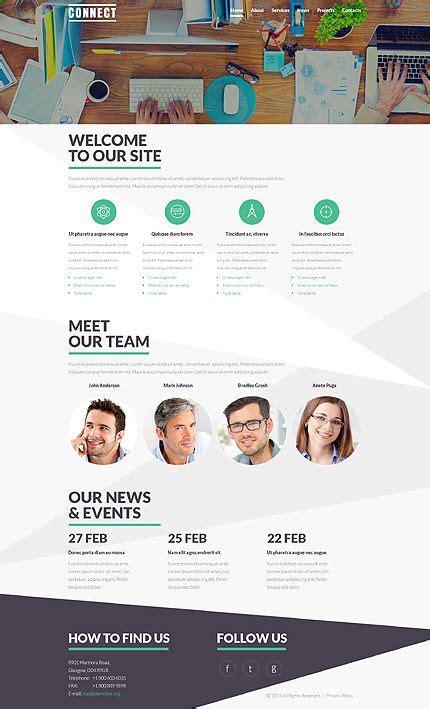 joomla vorlage namens communications service theme web