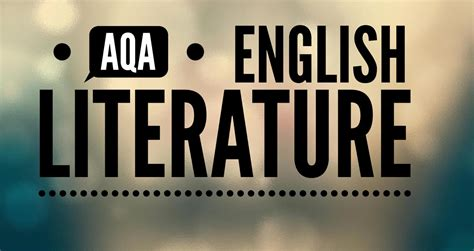 aqa s aqa gcse literature paper 2 section b anthology poetry