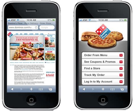 Mobile Website by Principles Of Mobile Site Design