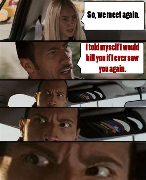 The Rock Driving Meme - image 7982 the rock driving know your meme