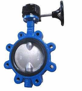 China Midline Butterfly Valve With Pins  In Lug Type  Yh