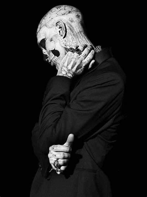 Rick Genest / zombie boy / tattoos | Piercings, Mode et Black mode