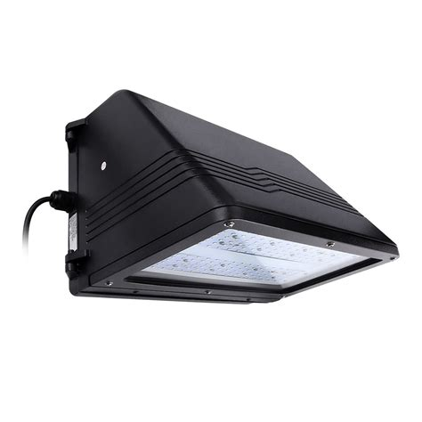 90w led wall pack 7650lm cutoff led wall pack le 174
