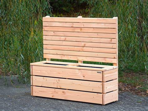 Pflanzkasten Als Sichtschutz by Pflanzkasten Mit Rankgitter Heimisches Holz Made In