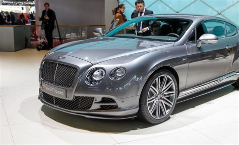 2018 Bentley Continental Gt Speed Coupe