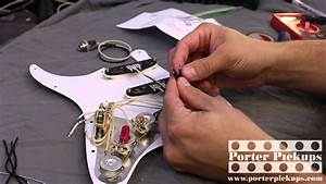 Porter Pickups Modern Strat And Emerson Custom Pre-wired Assembly Install