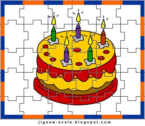 printable jigsaw puzzle for cake jigsaw