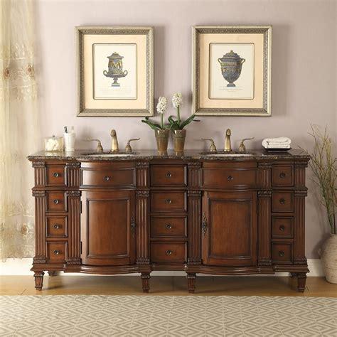 72 quot vanity bathroom baltic brown granite top sink