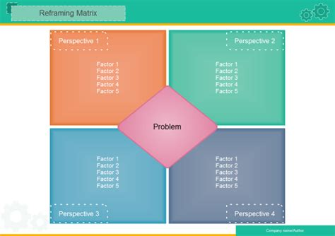 blank reframing matrix  blank reframing matrix templates