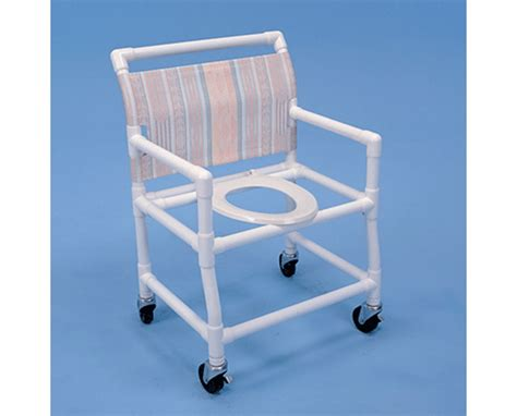 healthline pvc shower chair elongated seat free