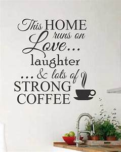 best 25 kitchen decals ideas on pinterest quotes for With kitchen colors with white cabinets with wall art vinyl decals