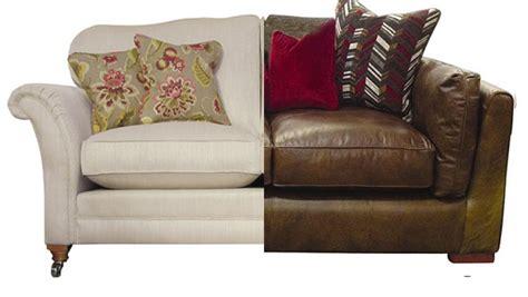 leather vs fabric sofa fabric vs leather sofas adorable home