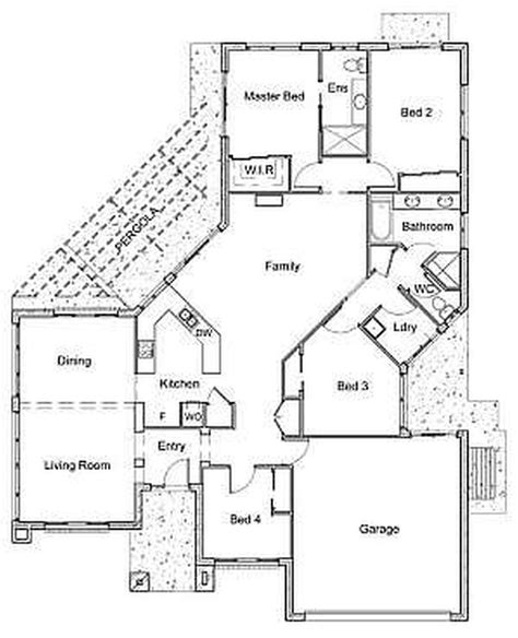 4 bedroom house plans 1 100 4 bedroom one house plans home design