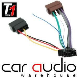 sony 16 pin 2013 onwards iso car stereo radio wiring harness cable adapter lead