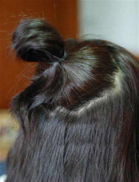 put  hair    cute bun hairstyling