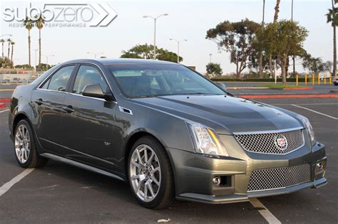 2011 Cts V by Drive 2011 Cadillac Cts V Sedan Road Test Review