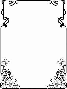 Clip Art Page Borders | Free Black and White Clip Art ...