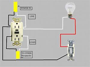 Wiring Diagram For Gfci And Light Switches