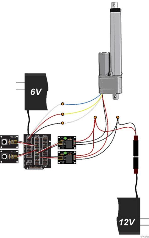 Control Large Linear Actuator With Arduino Hackster