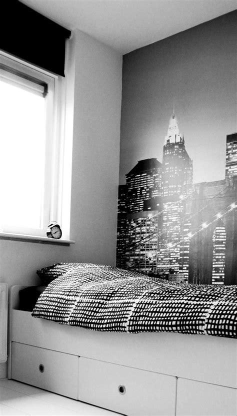 slaapkamer jongens wit zwart grijs fotografie