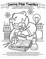 Coloring Science Pages Microscope Printable Lab Scientific Method Chemistry Photosynthesis Physical Drawing Sheet Worksheet Scientist Sheets Bear Clipart Library Colouring sketch template