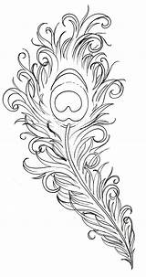 Peacock Feather Tattoo Drawing Deviantart Coloring Pages Adult Printable Feathers Stencil Sketch Heart Tattoos Metacharis Why sketch template