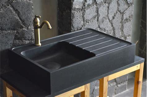 cuisine granit noir évier en pour cuisine shadow granit grand