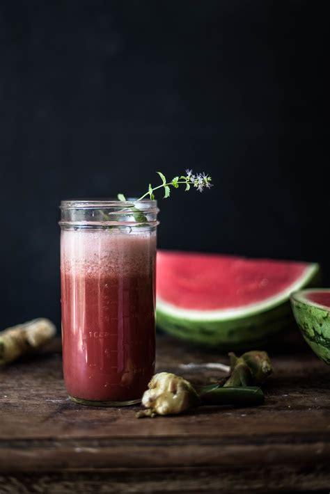 juice energy recipes watermelon juicing fruit healthy mint ginger roseandivyjournal pulse water mydomaine drink